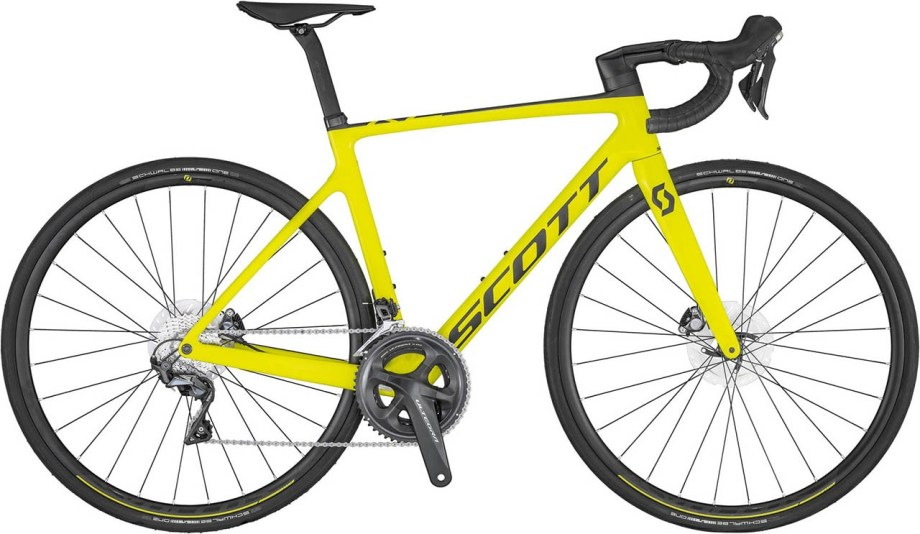 2021 SCOTT Addict RC 30 yellow Bike