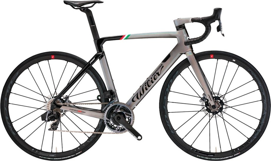 2020 Wilier Cento 10 Pro Red Etap Axs Disc 2X12 Xdr Miche Syntium