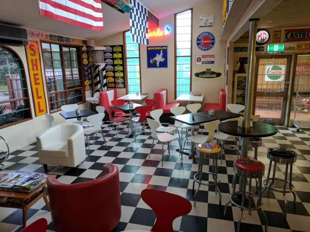 SPC CHARLIE'S AUTO CAFE