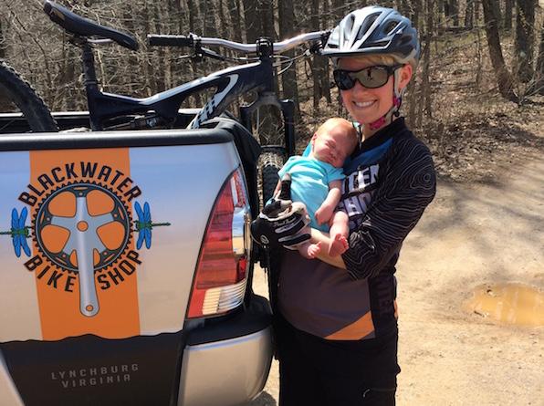 Mountain bike baby