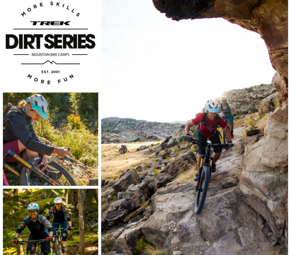 Trek Dirt Series Camps for Guys and Gals