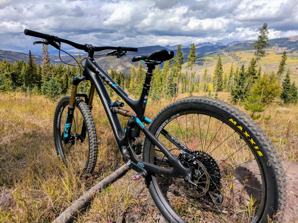 Outlier Vail Demo:  Yeti Cycles Lunch Ride