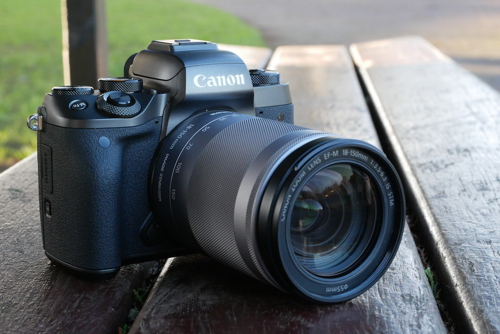 The Perfect Mountain Bike Camera?  Canon M5 Mirrorless Camera Review
