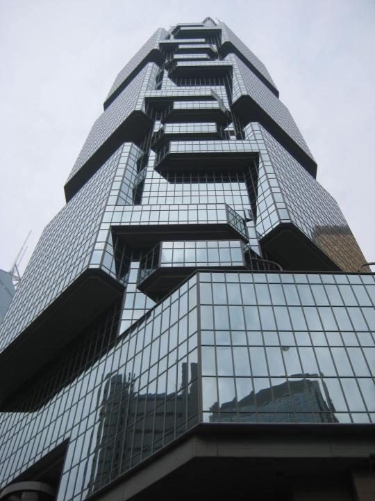 the Lippo building, home of the Taipei Cultural & Economic Office. lovely place.