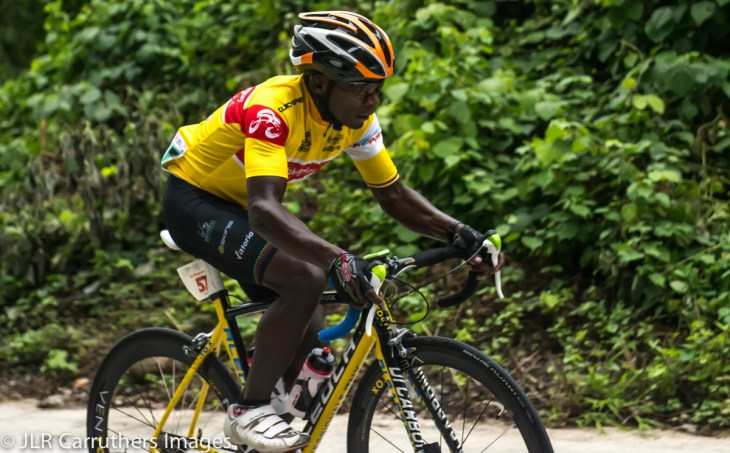 Njproge leading the Tour of Matabungkay
