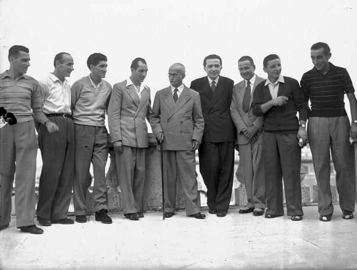 Gino Bartali Luigi Einaudi 1948