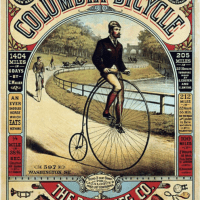 The Golden Age of American Bicycle Advertising