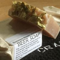 We had some soap made!