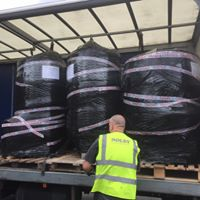 Our new kit being delivered
