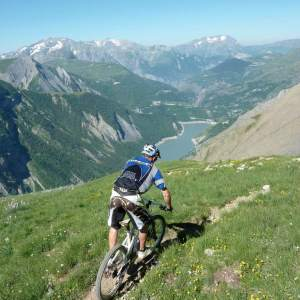 Enduro in the Alps