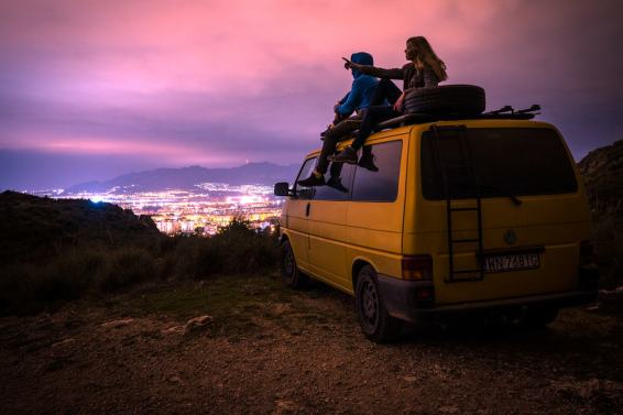 Well equipped van helps out with travelling