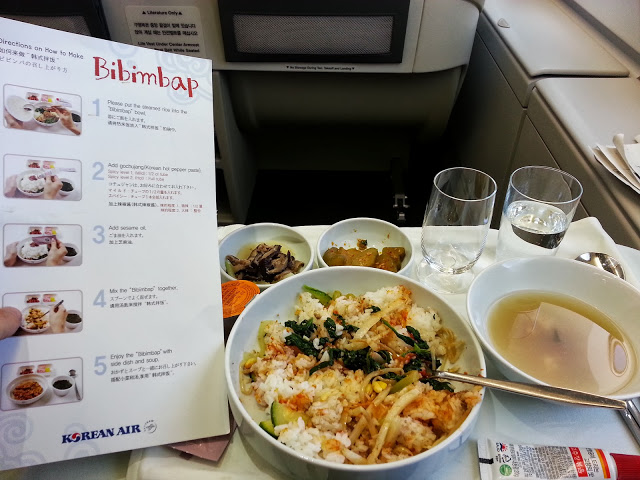 Korean Air Bibimbap