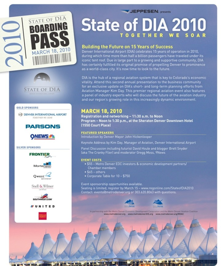 State of DIA Luncheon Invite