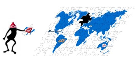 Virgin Atlantic Delta Puzzle