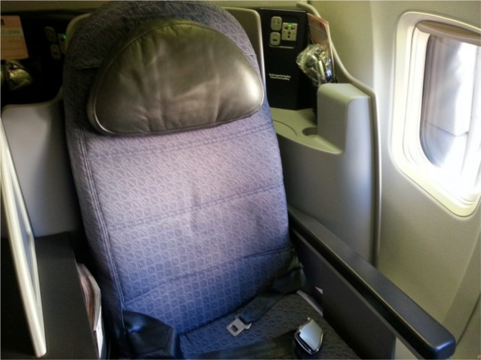 United Business Seat