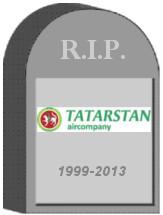 Tatarstan Airlines Shut Down