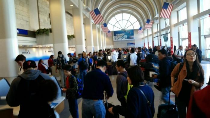 LAX Terminal 4 Madness