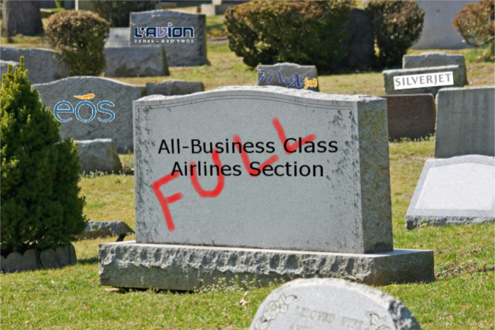 Business Class Airline Graveyard