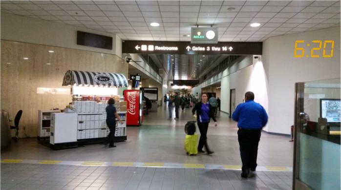 LAX Terminal 1 Security