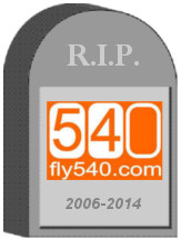 Fly540 Angola Ghana Tombstone
