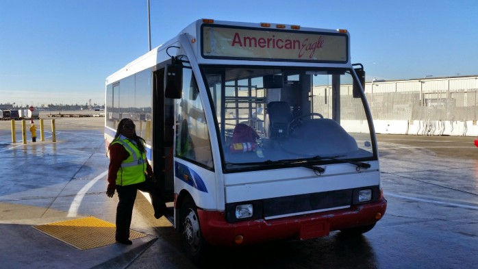 American Eagle Shuttle LAX