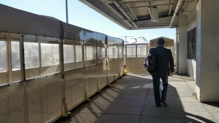 American Eagle Terminal LAX Walkways