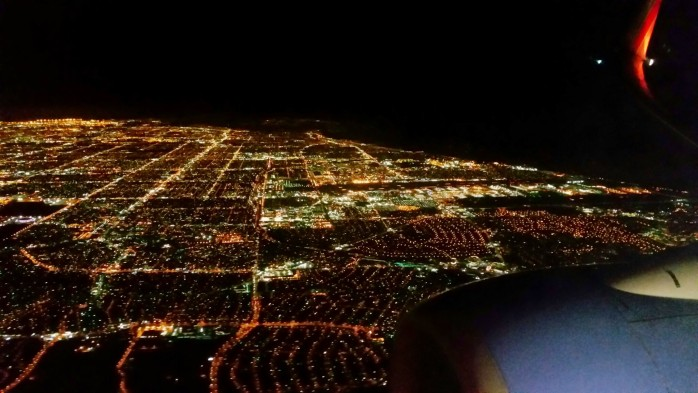 Night over Los Angeles
