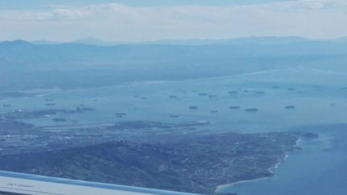 Port of LA Long Beach Slowdown