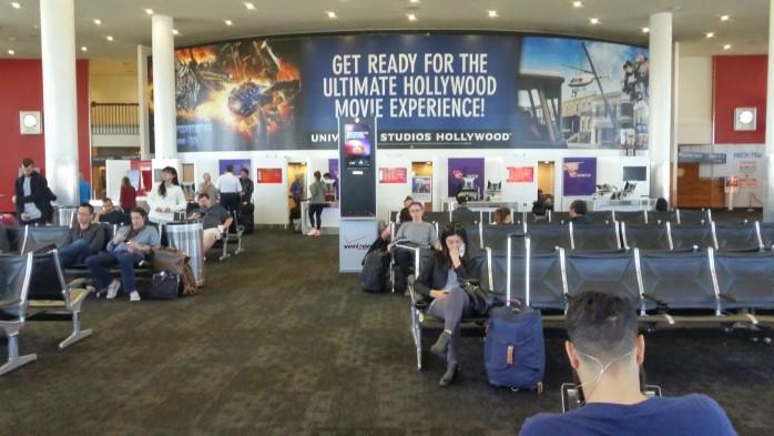 LAX Terminal 3 Virgin America Gates