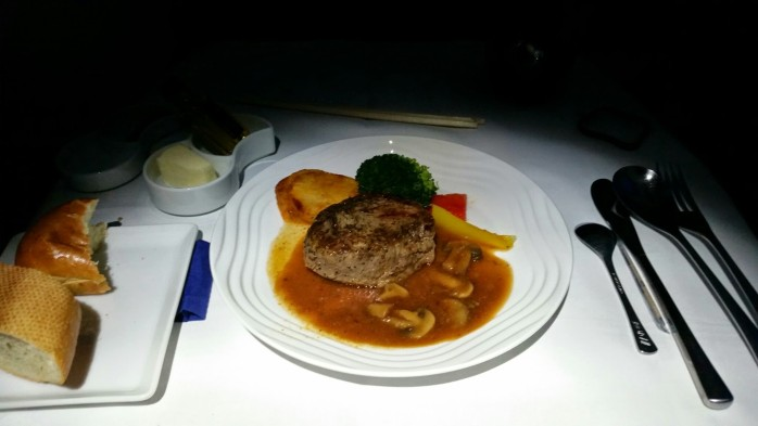 ANA International Meal Steak