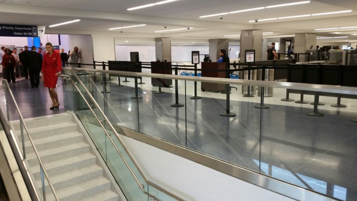 Delta LAX Terminal 5 SkyPriority Security