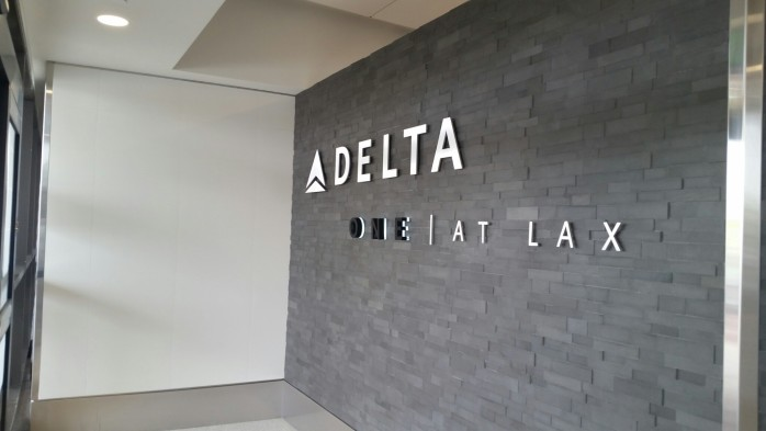 Delta One Entrance at LAX