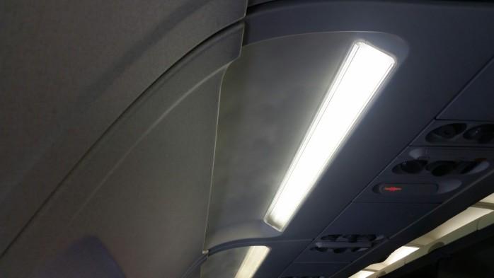 Misty Day on United A320