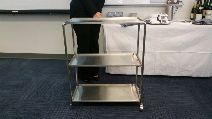 Three Tier Serving Cart
