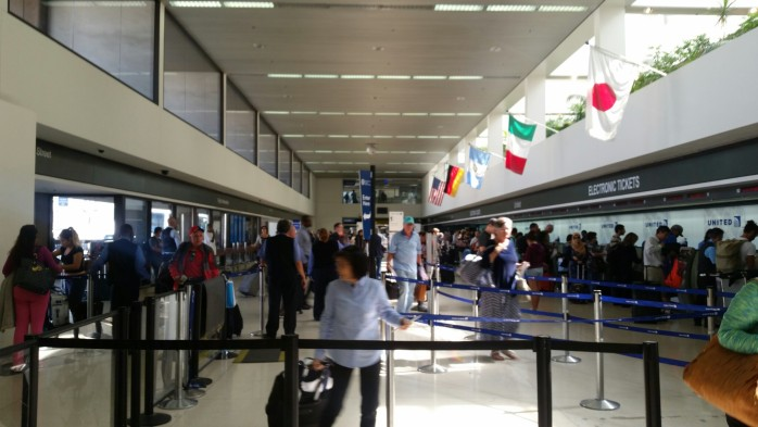 United Check-In Lobby LAX