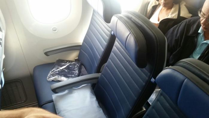United 787-9 Seat