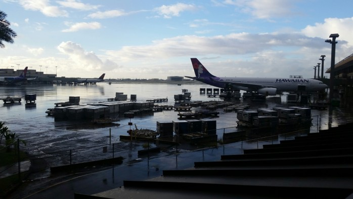 Rainy Morning at HNL