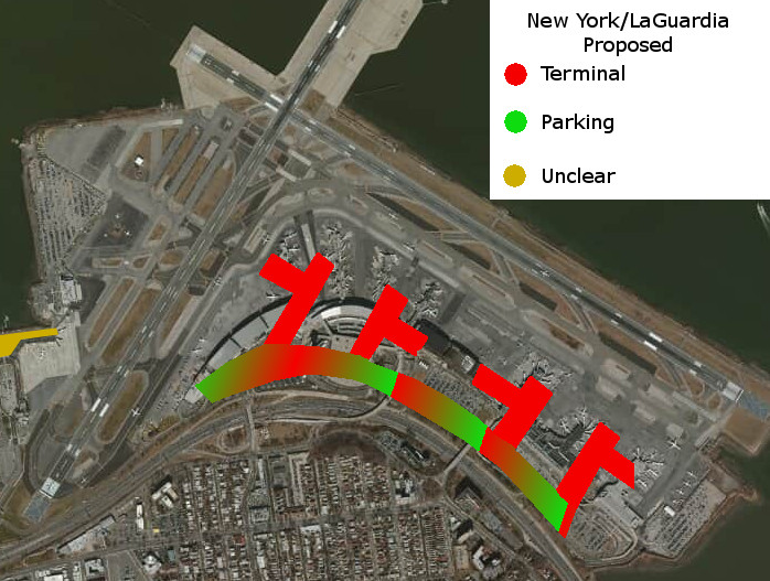 Proposed Design New York LaGuardia
