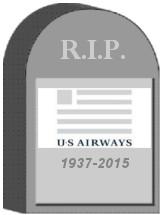 US Airways Tombstone