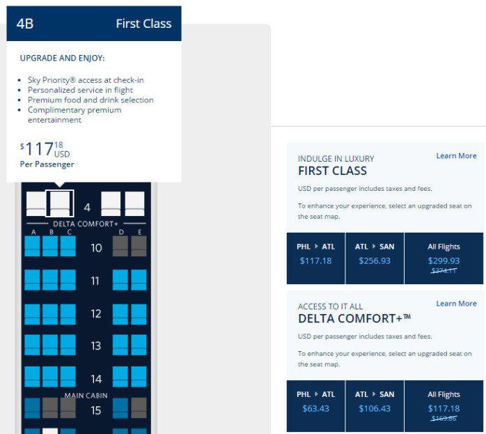 Deltas Move Toward Flexibility Upgrade Any Single Flight At Any