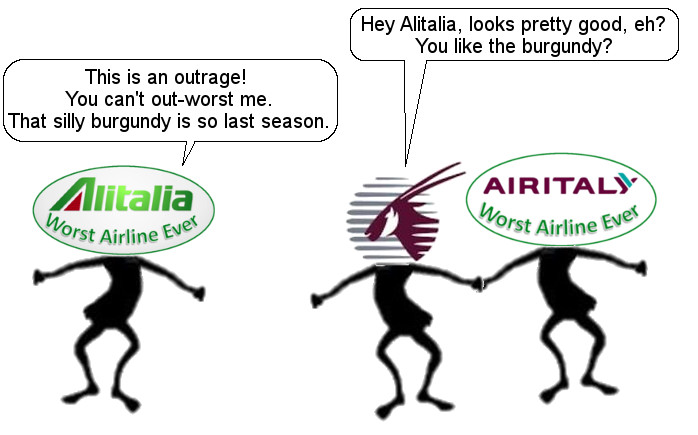 Don't Waste the Effort, Let Air Italy Fail On Its Own