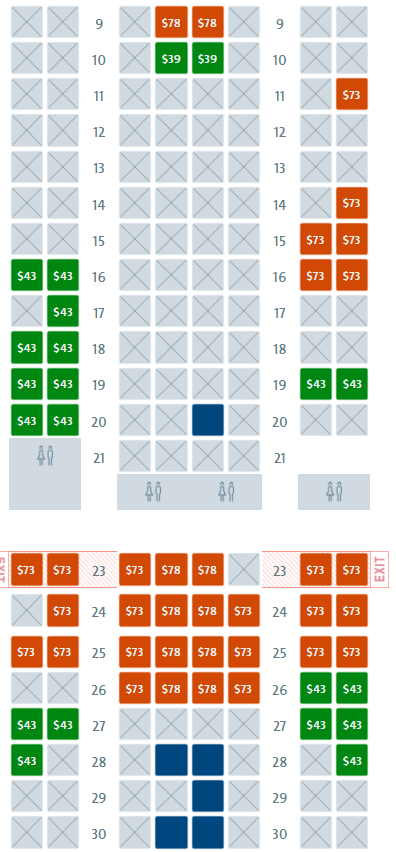 Preferred Seating Fees are a Problem | Cranky Flier