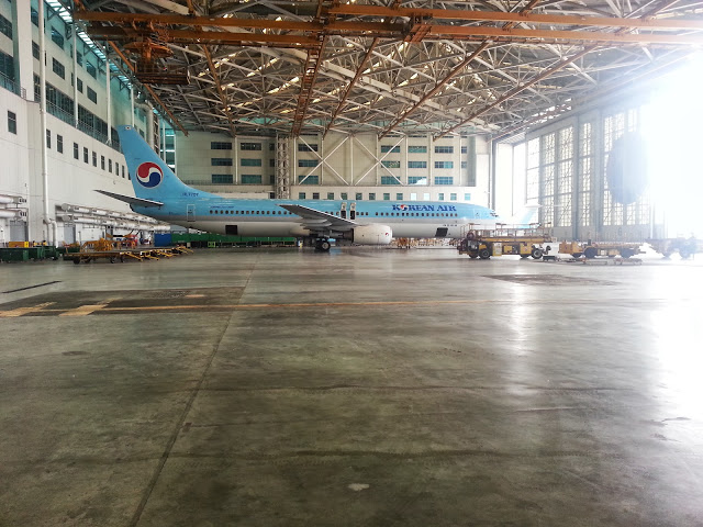 Korean 737 Hangar