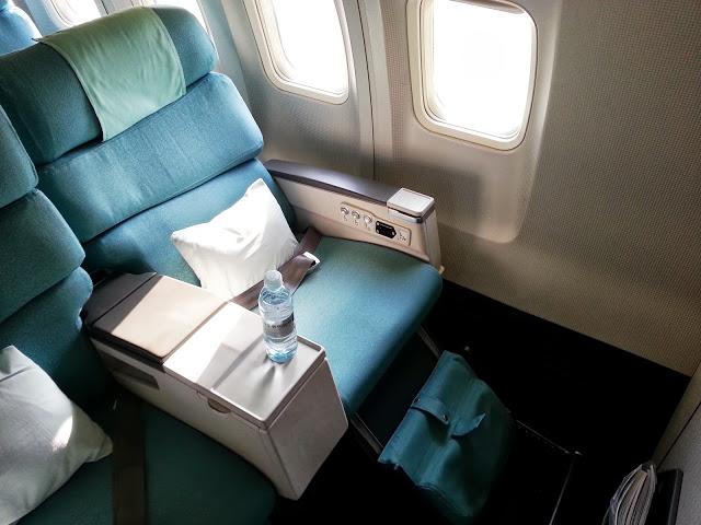 Korean 737 First Class