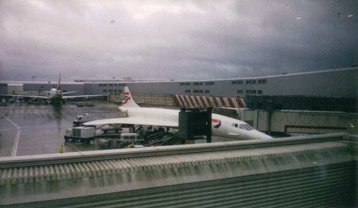 My Concorde at Heathrow