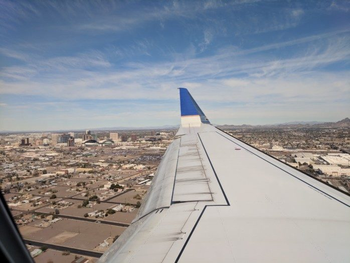 A Rare Trip on United, This Time to Phoenix (Trip Report