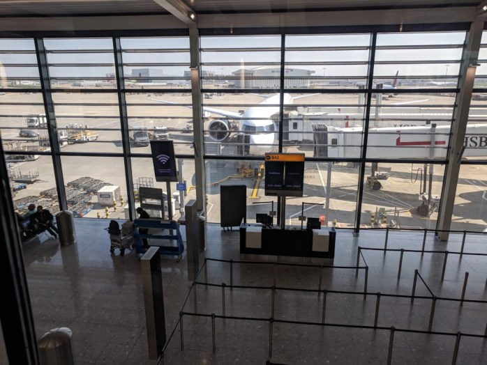Heathrow's Terminal 2 and Flybe to Edinburgh (A Cranky Travelogue)