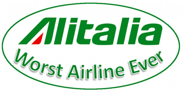 Alitalia Worst Airline Ever