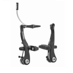 Tektro, RX6, Mini V-Brake, compatible with standard road levers, for one wheel, Black