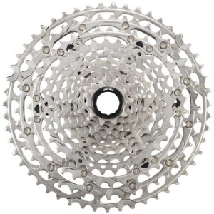 Shimano Cassette, CS-M6100, 10-51T, Deore, 12-Speed (HYPERGLIDE+), 10-12-14-16-18-21-24-28-33-39-45-51T